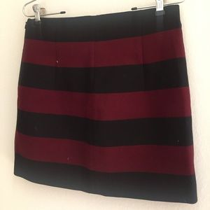 Zara Striped Mini Size Small NEVER WORN!
